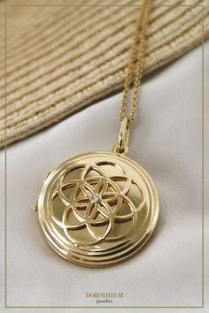 Medaillon, pendant, Anhänger, kette, necklace, personal, persönliche geschenke, schmuck, jewellery, presents, for her, für sie, geschenke, brillanten, goldschmuck