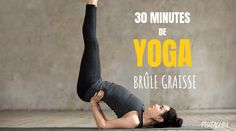 30 Minutes De Yoga Pour Brûler Les Graisses – Pistachiu This fat-burning yoga session is perfect for beginners and more experienced users. Yoga Fitness, Fitness Workout For Women, Sport Fitness, Fitness Women, Health Fitness, Yoga Meditation, Yoga Positionen, Yoga Inspiration, Fitness Inspiration