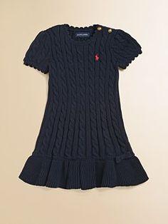Toddler girl knit dress Ralph Lauren