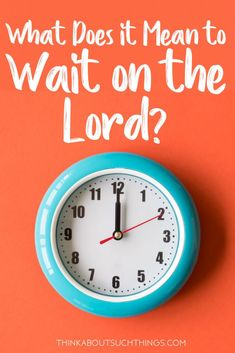 Have you ever caught yourself saying,I'm waiting on the Lord! Well, you are not alone. A lot of people have! But do we know what it truly means to wait on the Lord? Let's take a look into the Bible and see what it really says! Christian Women, Christian Living, Christian Faith, Jesus Bible, Bible Verses, Wait Upon The Lord, Jesus Quotes, Quotes Quotes, Life Quotes
