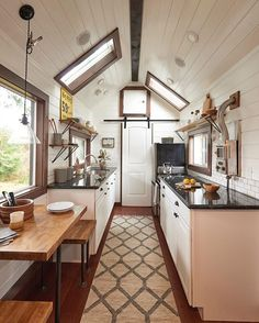 Pin for Later: 31 Lavish Reasons Why We Want to Move into a Tiny Home High Ceilings High ceilings create additional space and comfort in a tiny home.