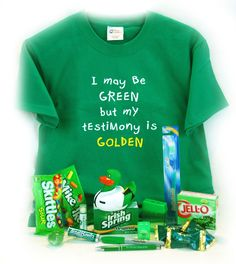 'Greenie' Missionary Package or st. Patricks day