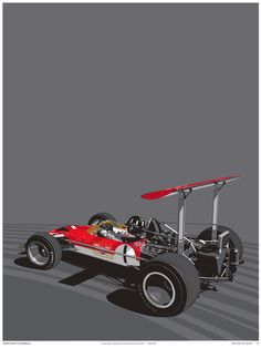 The Legends Never Die Series is a collection of Formula One posters by the team at Curb