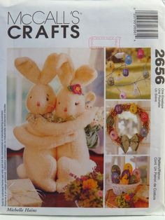 McCall's 2656 Easter Decorations