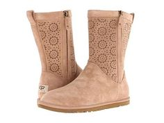 UGG Cizme UGG - Lo Pro Short Perf - Fawn Suede