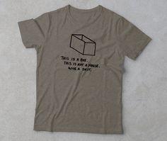 Design by Scott MarvelBlack Ink on Olive Triblend Unisex T-shirt