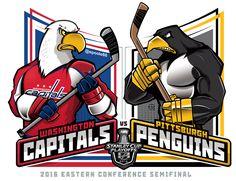 East Semis. @washcaps v @penguins @NHL @NHLonNBCSports #StanleyCupPlayoffs #StanleyCup #EPoole88