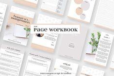 Momprenuer Workbook Indesign Magazine template