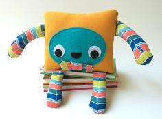 Handmade Monster Plushie Monster Soft Toy Friendly Felt
