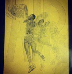 Drawing / Michael Jordan / air Jordan / Jordan's / basketball