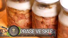 Salty Foods, Mason Jars, Menu, Canning, Recipes, Youtube, Hampers, Essen, Menu Board Design