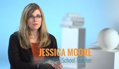 """""""Creativity and authentic learning experiences for kids."""" That's why Jessica is one of the 75% of teachers who support the Common Core."""
