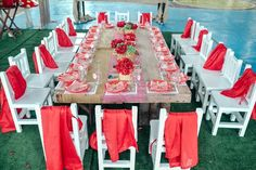 Amanda's Little Red Riding Hood Themed Party - 5th Birthday ...