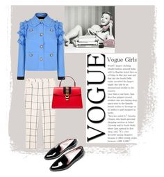 """Office Audrey"" by marina-polonska on Polyvore featuring мода, Gucci и MANGO"