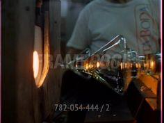 Fabrication de verre / Manufacture de Verrerie / Suède | HD Stock Video 782-054-444 | Framepool Stock Footage