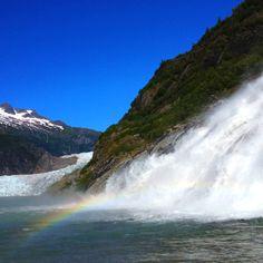 Mendenhall Glacier & Nugget Falls <3
