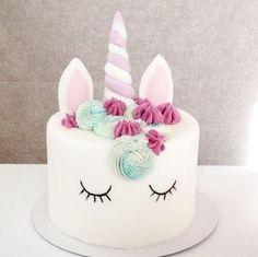 Le gâteau licorne : mon défi pour l'anniversaire de ma fille