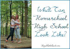 What Can Homeschool High School Look Like?