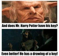 Harry Potter meets Jack Sparrow!!