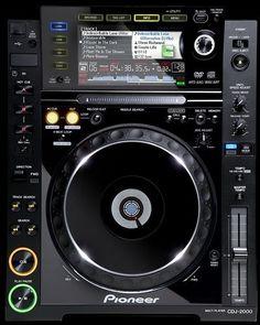 Pioneer CDJ-2000 Professional Club DJ...