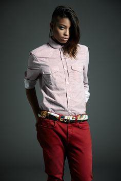 #Derriere fall/winter 2014 #dderriere #denim #jeans #Pantalone #Pant #EasyFit col. #Blood #Camicia #Shirt mod. #Scolaro art. #FioreRed