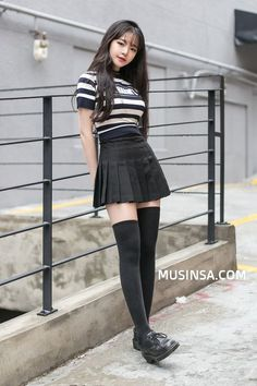 Nice Best pretty korean fashion dresses Check more atFashion Outfits: Korean Fashion Street Style, Copy This LooksNew Fashion Asian Street Shirts 68 IdeasLovely thigh highs and a gorgeous tennis skirt. Korean Street Fashion, Korean Fashion Dress, Ulzzang Fashion, Korean Outfits, Japanese Fashion, Asian Fashion, Fashion Dresses, Korea Fashion, Korean Clothes