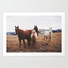 Home on the Range Art Print by sheenarae - $17.00