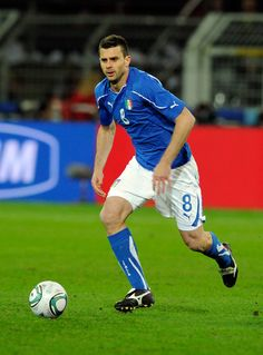Thiago Motta - In 2011, Motta received his first call-up from Italy, for a friendly against Germany in a 1-1 draw. On 25 March 2011, in only his second international, a UEFA Euro 2012 qualifier in Slovenia, Motta scored the game's only goal, following a 73rd-minute combination with Federico Balzaretti. Motta was called up to the Azzurri for the Euro 2012 Championship, and was selected to the starting lineup the first two games, against Spain and Croatia.