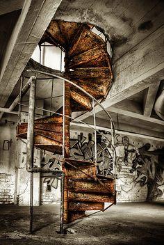 Rusty Stairs by Matthias Haker