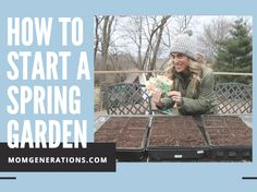 Looking to make a Spring Vegetable Garden!? Tips on the blog today! My husband is an EXPERT at this, so he helped me create some starter tips!