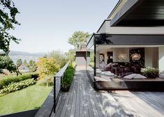 Object 336 / meier architekten: living room of meier architects zürich Exterior Siding Options, Exterior Doors, Patio Design, Exterior Design, House Design, Architecture Details, Interior Architecture, Home Upgrades, Zurich