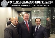 Long Beach Police Department Chief and future Candidate for Los Angeles County Sheriff Department Chief Jim Mcdonnell with Chief Edmon Muradyan Marshall Security &Training Academy, President Robert Parseghian Gun Gallery. Security Training, Security Service, Sheriff Department, The Marshall, Training Academy, Los Angeles County, Private Sector, Law Enforcement, Long Beach