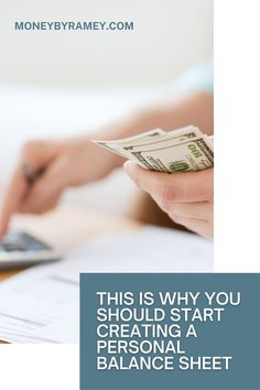 Budgeting has personally allowed me to become Financially Free at a relatively young age and gave me the confidence and knowledge to be able to break free of a cubicle lifestyle and pursue my own dreams of entrepreneurship. Click the photo to find our why you should start creating a personal balance sheet. #ideas #personalfinance #finance #entrepreneur #tips #howto #money #moneymanagement #financialfreedom #financialplanning