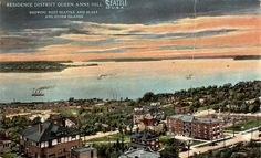 Taken about 1915 from the Queen Anne Standpipe, looking southwest. Image courtesy of Bruce Jones.