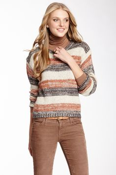 Carducci Relaxed Striped Pullover