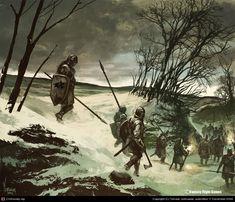 Northern Infantry by Tomasz Jedruszek | 2D | CGSociety