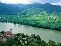 Don't miss: Vineyards and monasteries line both banks in the storybook-lovely Wachau Valley. In charming Dürnstein, a steep 25-minute hike from the water's edge leads to the ruins of medieval Kuenringer Castle (pictured here) and fine river views.