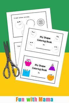 Learn about shapes with our shape coloring book. This FREE printable will teach your children to recognise simple 2 D shapes! Click through to grab your free book. Shape Coloring Pages, Coloring Pages For Kids, Coloring Books, Preschool Age, Preschool Books, Printable Shapes, Free Printable, Circle Square Triangle, Shape Books