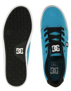 DC Anvil TX Sneakers Turquoise