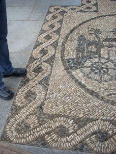 Pebble Mosaic, Spain