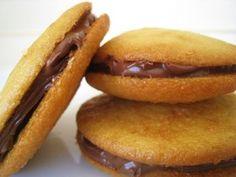 Nutella Graham Cracker Whoopie Pies
