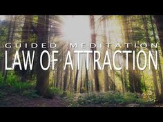 Guided Meditation for Deep Positivity - Law of Attraction - Self Hypnosis Meditation Musik, Daily Meditation, Chakra Meditation, Mindfulness Meditation, Manifestation Meditation, Meditation Videos, Law Of Attraction Meditation, Walking Meditation, Learning To Love Yourself