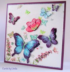 Butterfly serviette