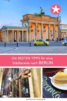 Die besten Insidertipps für einen Kurztrip nach Berlin! #berlin #berlininsidertipps #reisenmitkindern Big Ben, Building, Travel, Hotels For Kids, Traveling With Children, Families, Vacation, Viajes, Buildings