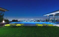 Huis in de heuvels van Hollywood #design #architectuur