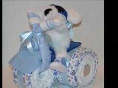 How insanely cute for baby shower! Can add or replace diaper cake center-pieces. Love it Baby-shower-gift-sports-theme-centerpiece-baby-cakes-baby-boy. Baby Shower Gifts For Boys, Baby Shower Parties, Baby Shower Themes, Baby Boy Shower, Baby Gifts, Shower Ideas, Man Shower, Baby Showers, Baby Shower Diapers