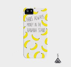 BANANA~There's Always Money in the Banana Stand  iPhone by Katnawlins,etsy