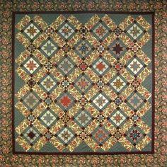 Greystone pattern by Red Crinoline