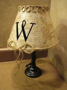 Inspiring Creativeness: ANOTHER Lamp!