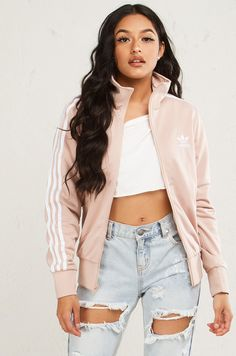 Adidas Graphic Longsleeve Zip Up Jacket